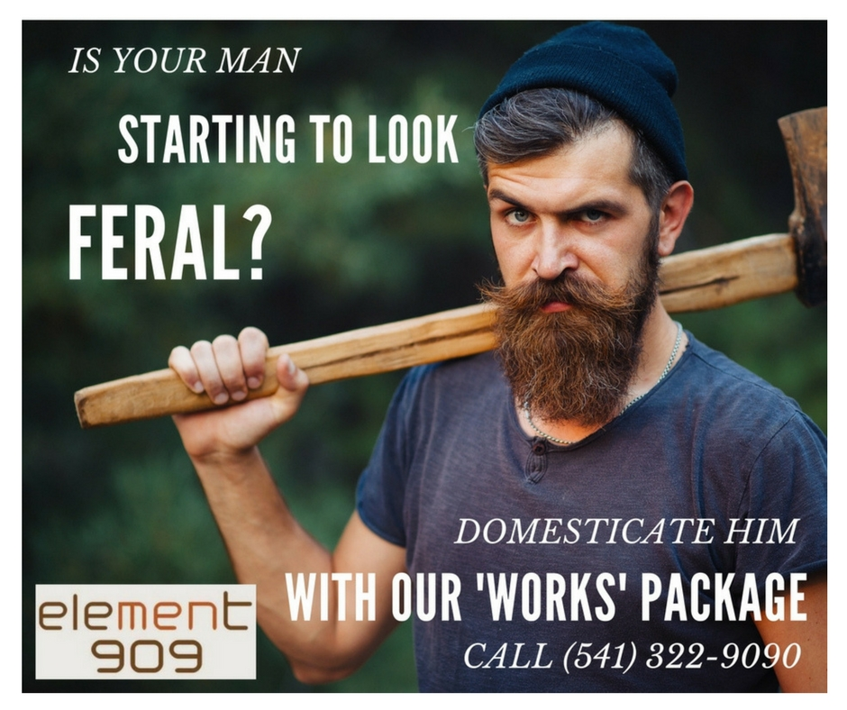 man looking feral Element 909